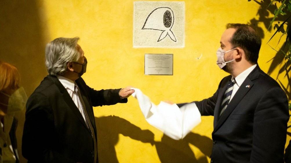 En Roma, el Presidente homenajeó a las Madres y Abuelas de Plaza de Mayo
