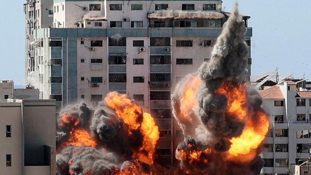 RSF denunció el ataque israelí al edificio de la prensa en Gaza ante la CPI