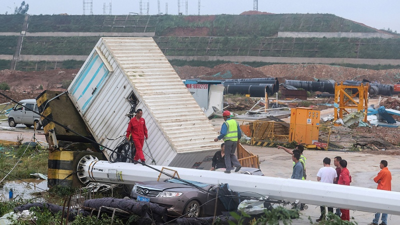 Dos violentos tornados dejan al menos 12 muertos en China