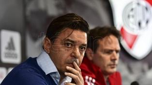 Tras la dura eliminación en la Copa Libertadores, Gallardo definirá su futuro a fin de año