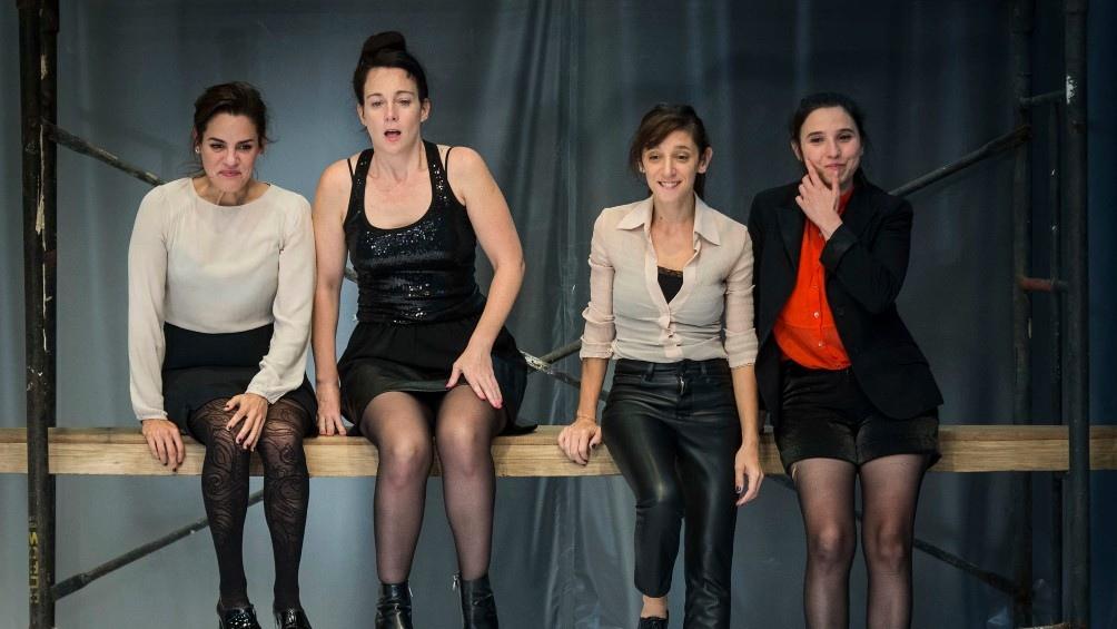 El grupo teatral Piel de Lava.