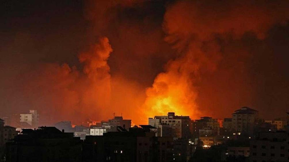 El ejército israelí atacó el domicilio de Yahya Sinwar, el jefe político de Hammas.