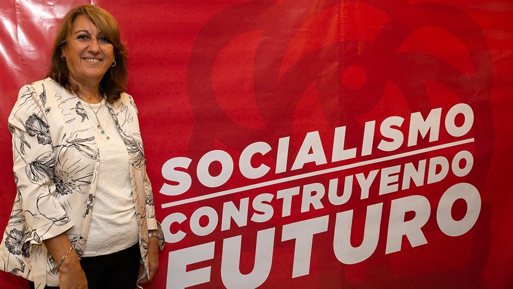 La presidenta del socialismo dijo que