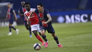 PSG goleó a Reims y se puso a un punto del líder Lille en la anteúltima fecha