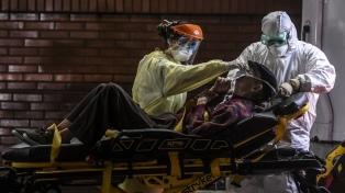 Pese a una baja en el número de casos, continúa alta la ocupación de camas de terapia intensiva