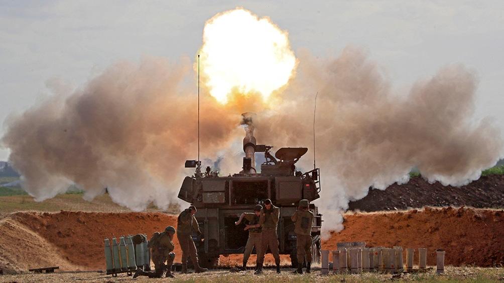 Israel lanzó los más fuertes bombardeos contra la Franja de Gaza desde el inicio de su ofensiva