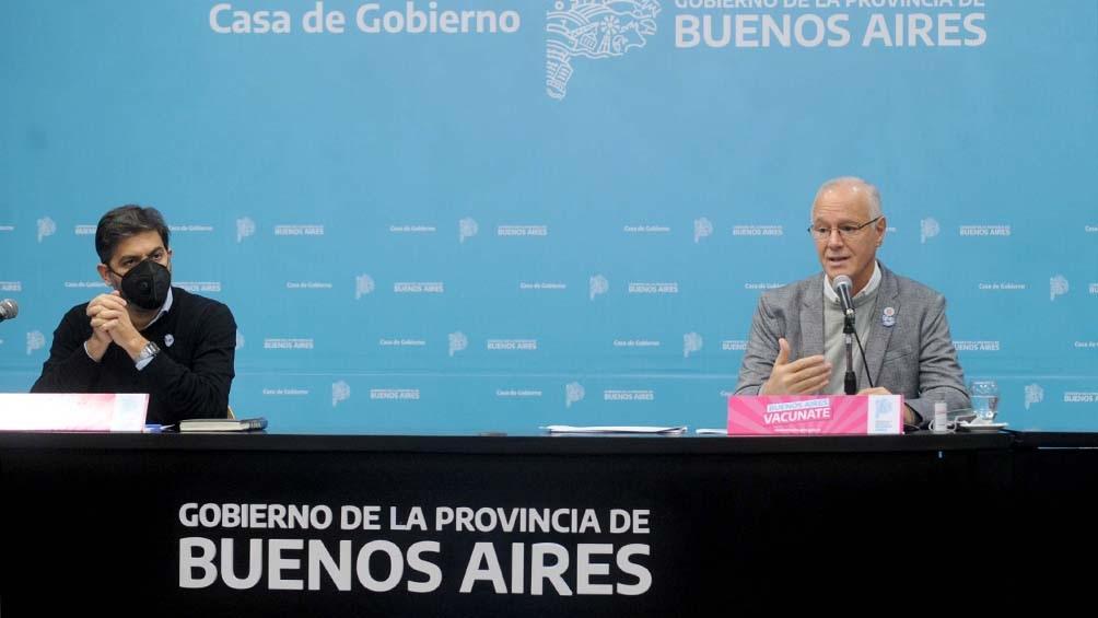 """Daniel Gollan y Carlos Bianco advirtieron que """"se ha detenido el descenso de casos""""."""