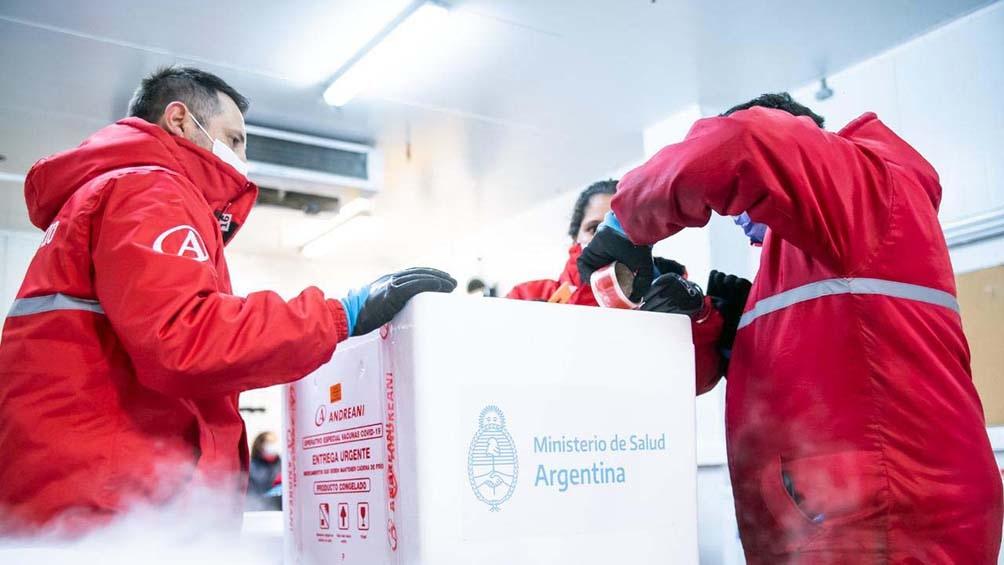 Más vacunas: 494.400 dosis de Sputnik V comenzaron a ser distribuidas en todo el país