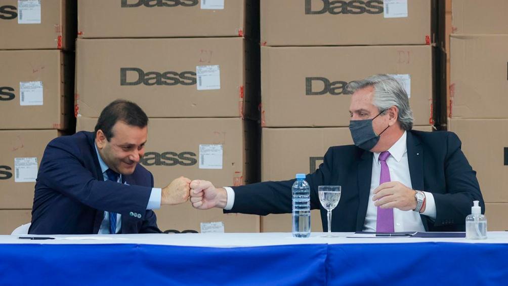 El Presidente encabezó un acto en Misiones, durante su visita a la planta de la empresa textil Dassa, donde anunció inversiones para la sustitución de importaciones y generación de empleo.