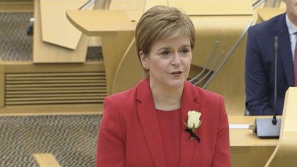 Sturgeon fue reelegida y reafirmó su intención de promover la independencia