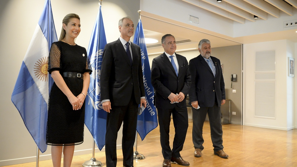 Los representantes del PMA, valoraron el vínculo con Argentina y manifestaron su interés en continuar explorando líneas de colaboración conjunta en iniciativas de interés mutuo