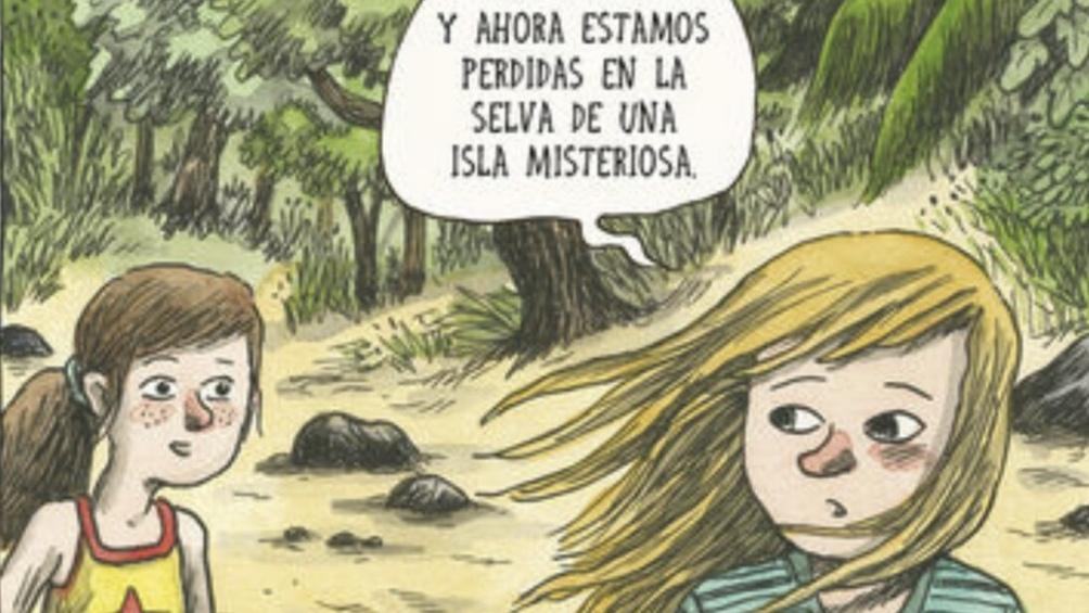 """Viñeta de """"Flores salvajes"""", de Liniers."""