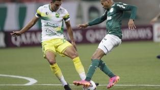 Defensa y Justicia hizo historia al clasificarse a octavos tras vencer a Palmeiras