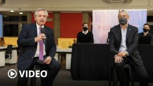 """Fernández destacó que Argentina """"empieza a moverse y se vuelve a recrear el empleo"""""""