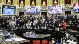 La Cámara de Diputados rindió homenaje a Meoni y a Lifschitz
