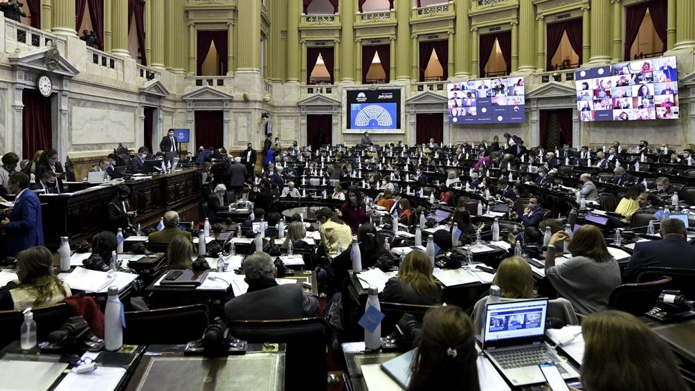 El objetivo del gobierno nacional era obtener en la tarde del jueves la sanción de la norma, ya aprobada por el Senado, antes de que venza el viernes el último DNU.