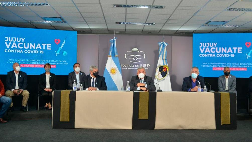 El gobierno de Jujuy anunció que gestiona vacunas procedentes de la República Popular China.