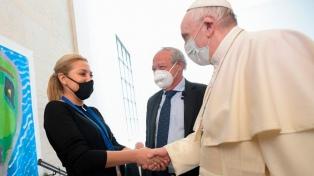 La primera dama y sus pares de la región, junto al Papa en Roma