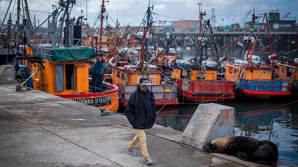 """Los gremios que integran la Federación Marítima, Portuaria y de la Industria Naval (Fempinra), que lidera Juan Carlos Schmid, repudiaron """"la cobarde agresión contra la sede central del Sindicato de Capataces Estibadores Portuarios"""""""
