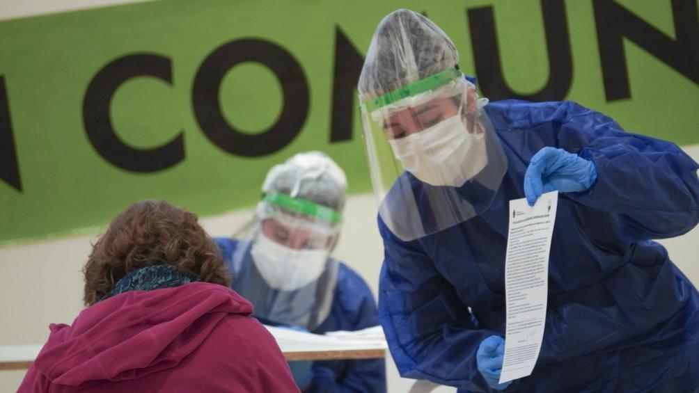 Chubut superó los 64.000 casos positivos confirmados desde que comenzó la pandemia.