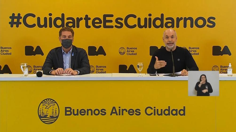 """Soledad Acuña, ministra de educación porteña, explicó que las clases virtuales se suspendían """"por el momento de angustia"""" y casos """"que no paran de crecer"""""""