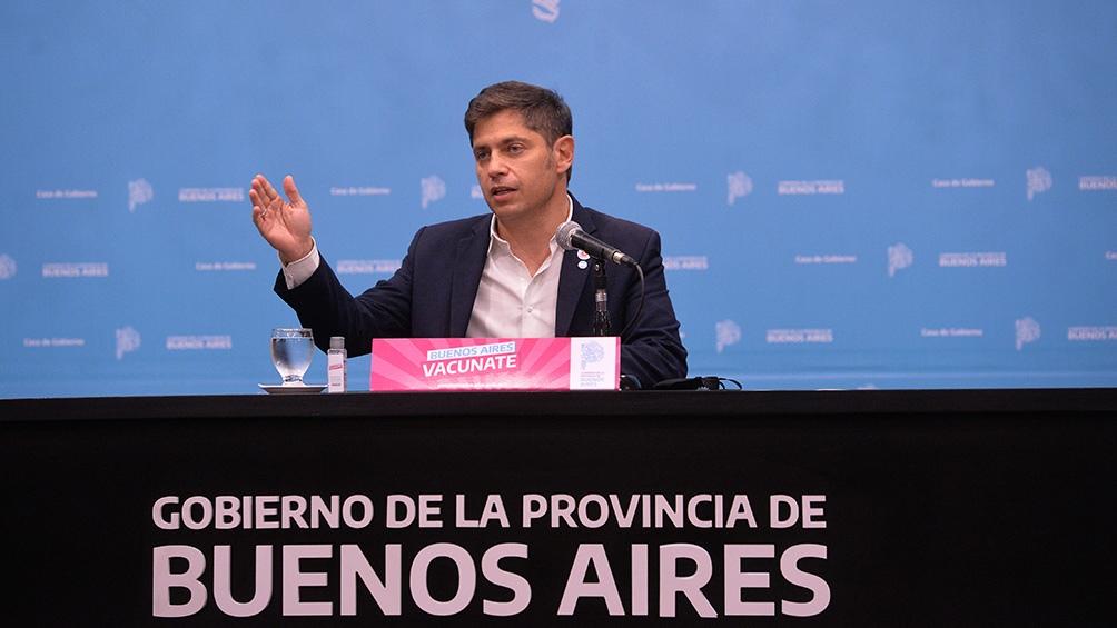 Coronavirus: Kicillof anunció que los municipios de General Pueyrredón y Bahía Blanca pasan a fase 3