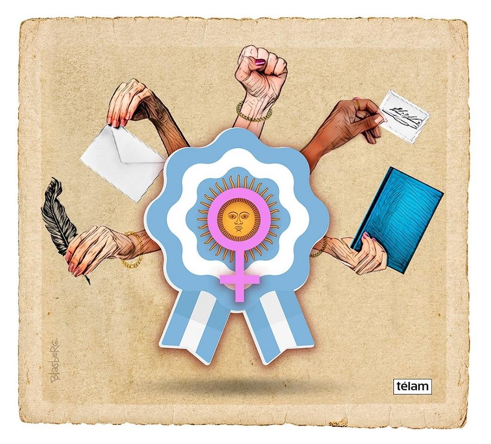 Las mujeres que tuvieron un rol destacado en el proceso revolucionario e independentista.