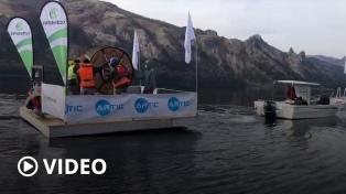 Despliegan la primera fibra óptica subacuática en la Argentina