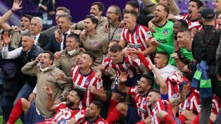 Atlético Madrid del Cholo Simeone es campeón de la Liga Española
