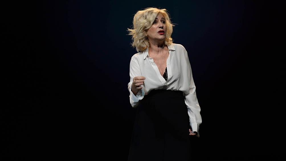 """""""La verdad es que me cuesta disfrutar del teatro si no es en una sala"""", dijo la actriz durante la entrevista."""
