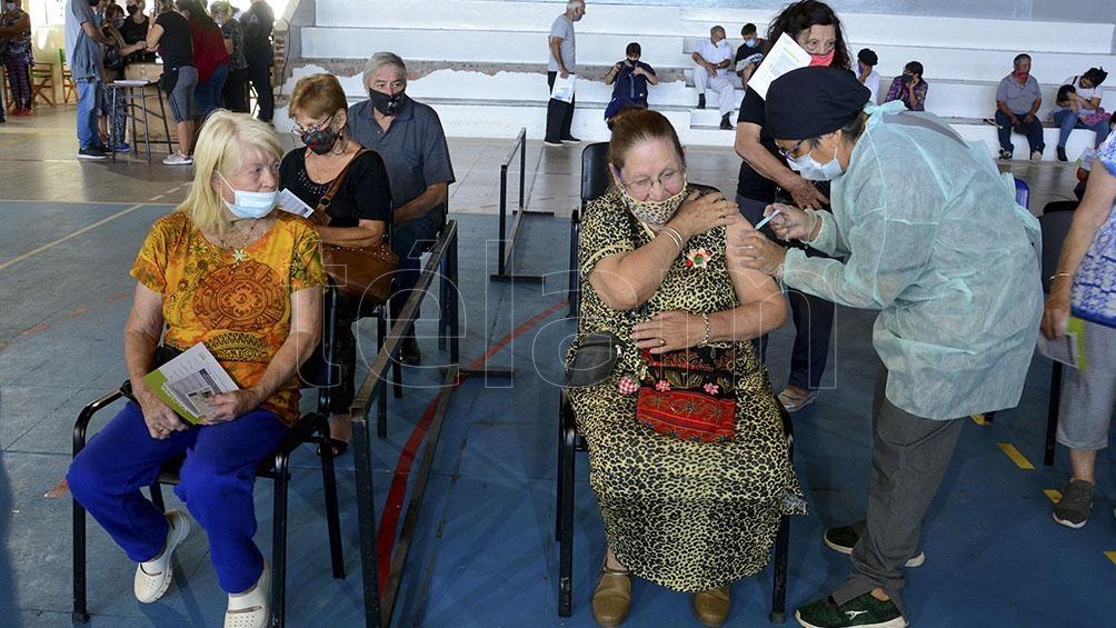 En Buenos Aires se aplicaron 4.157.012 dosis desde el inicio de la campaña. Foto: Marcelo Ochoa.