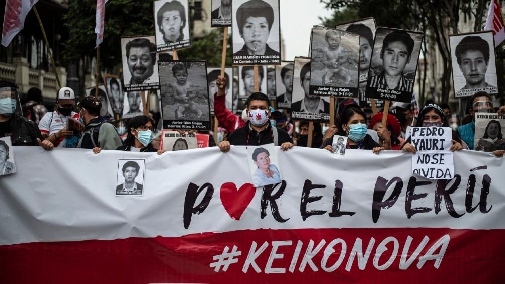Los órganos electorales están bajo asedio del fujimorismo, que incluye manifestaciones y marchas de seguidores.