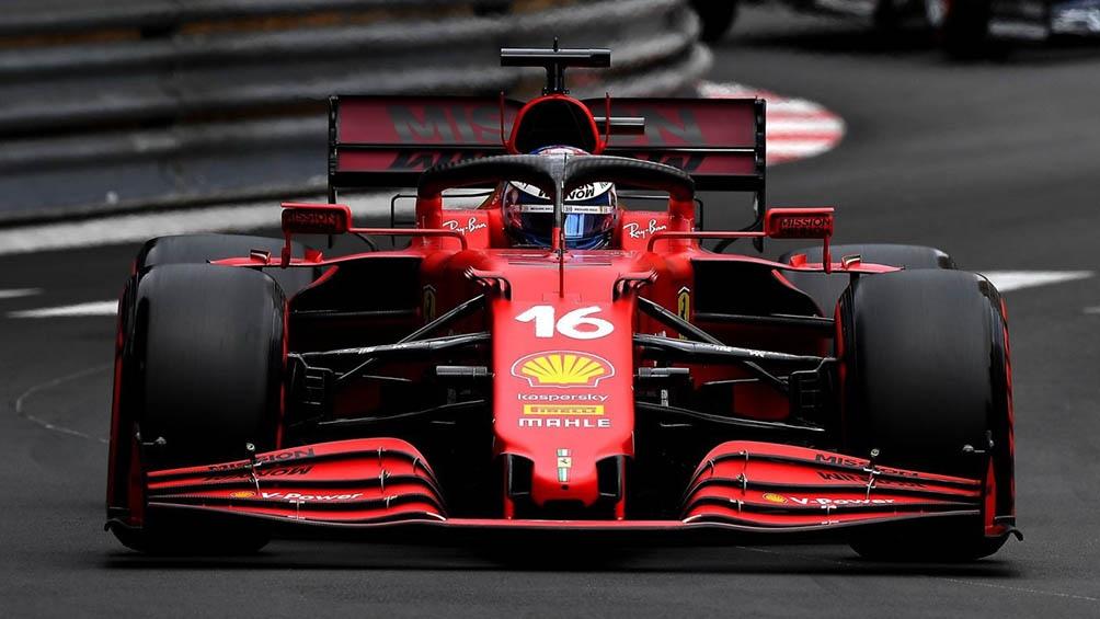 Charles Leclerc cumplió una destacada actuación en la clasificación para el GP de Azerbaiyán, sobre el trazo de Bakú (foto archivo)