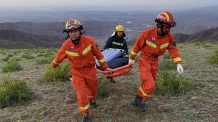 Tragedia en China: 21 atletas murieron en una carrera de montaña