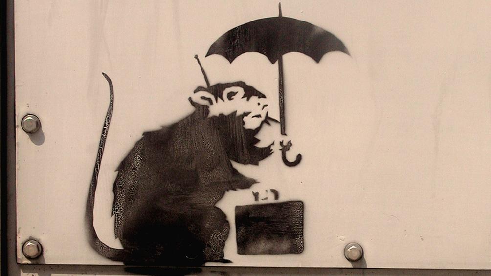 Bansky es un creador de un arte crítico y efímero.