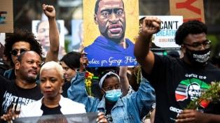 Marchas y homenajes por el aniversario del asesinato de George Floyd