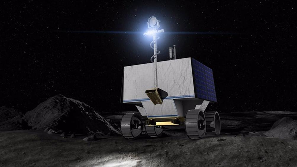 El diseño del rover mejora significativamente un antiguo concepto robótico para explorar la Luna llamado Resource Prospector
