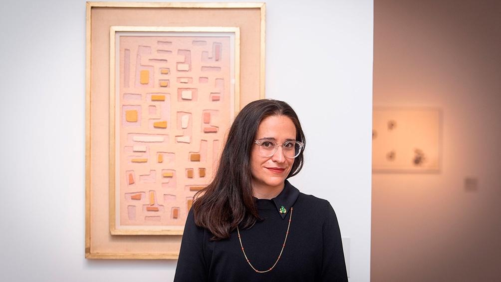 """Máría Amalia """"Marita"""" García es doctora y licenciada en Historia del Arte en la Universidad de Buenos Aires y docente e investigadora de Conicet."""