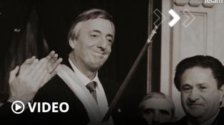 Recuerdan a Néstor Kirchner a 18 años de su asunción presidencial