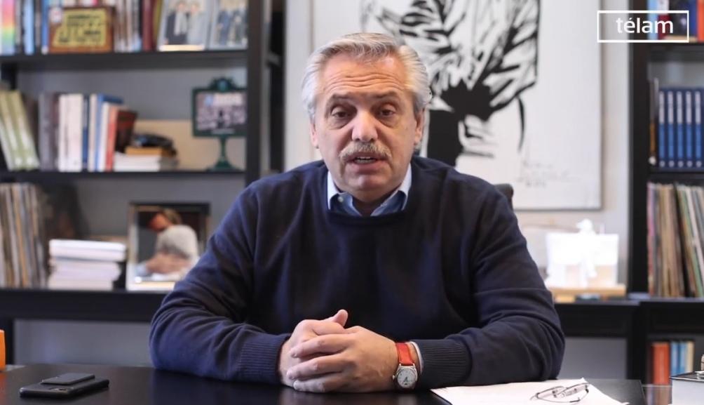 Alberto anunciará aumentos para los jubilados.