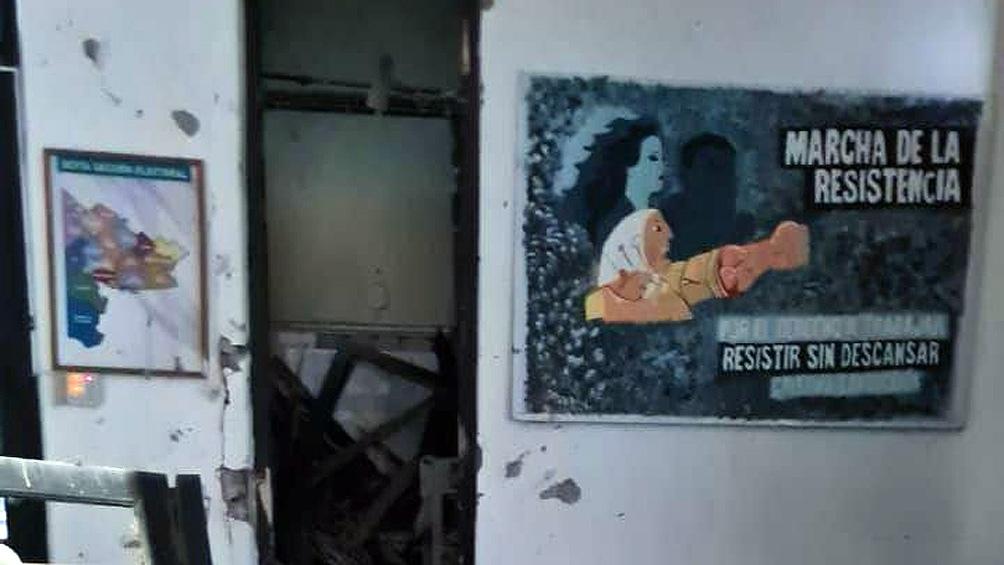 El hecho ocurrió esta madrugada en el local ubicado en Berutti 184, esquina Donado, de la ciudad de Bahía Blanca.