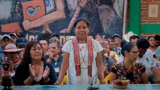 """La experiencia de """"La vocera"""" indígena mexicana en el Festival de Derechos Humanos"""
