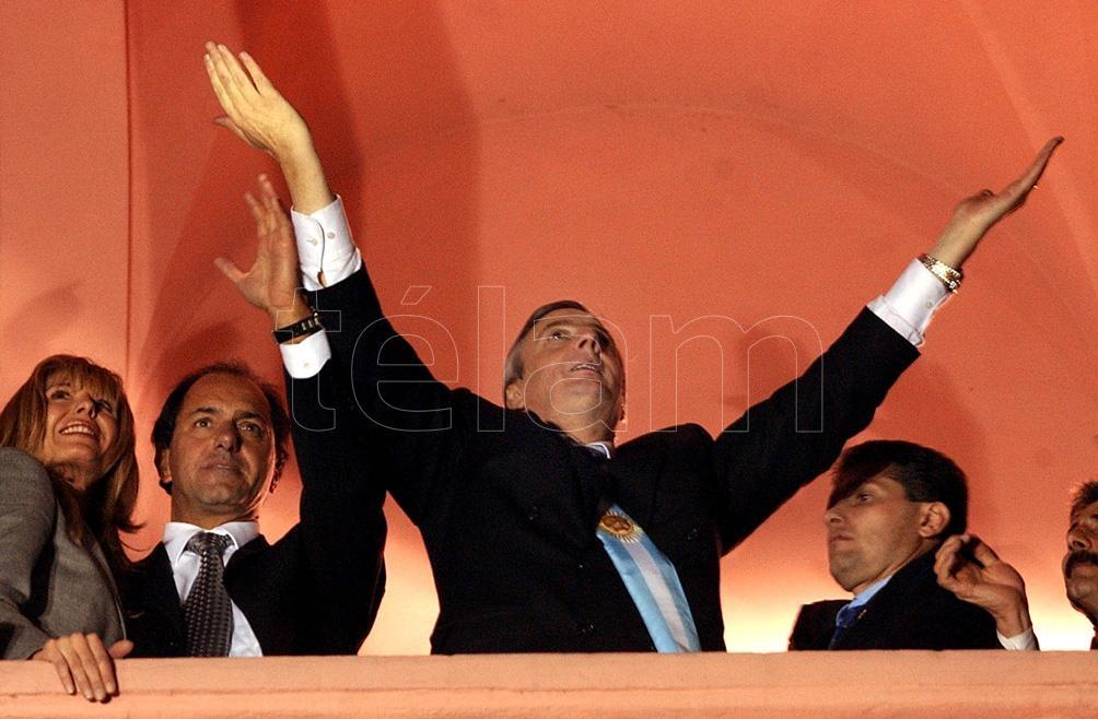 En las elecciones de 2003, Kirchner obtuvo el 22,24 % del total de los votos.