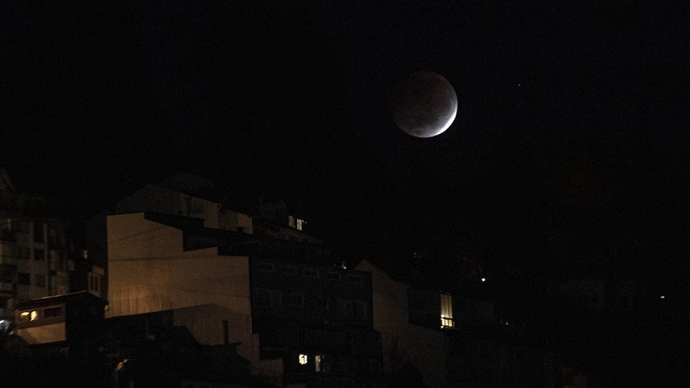 """""""No hemos tenido un eclipse lunar total con una Superluna en casi seis años"""" dijo la NASA."""