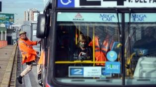 Un 71% menos de personas utilizaron el transporte público en el AMBA el fin de semana largo