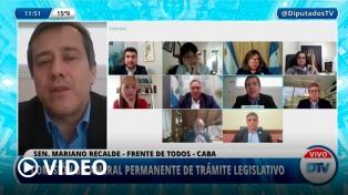 La Bicameral avanza con el decreto que dispuso nuevas restricciones ante el aumento de casos