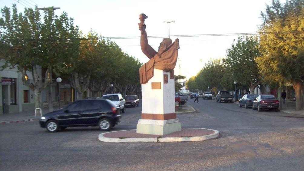 El monumento era parte de la cotidianeidad de Salliqueñó y buena parte de sus habitantes desconocían su significado.