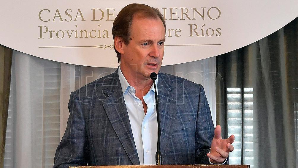 El gobernador entrerriano ya se había contagiado de coronavirus en septiembre de 2020.