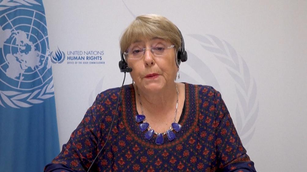 Alta Comissária das Nações Unidas para os Direitos Humanos, Michelle Bachelet.