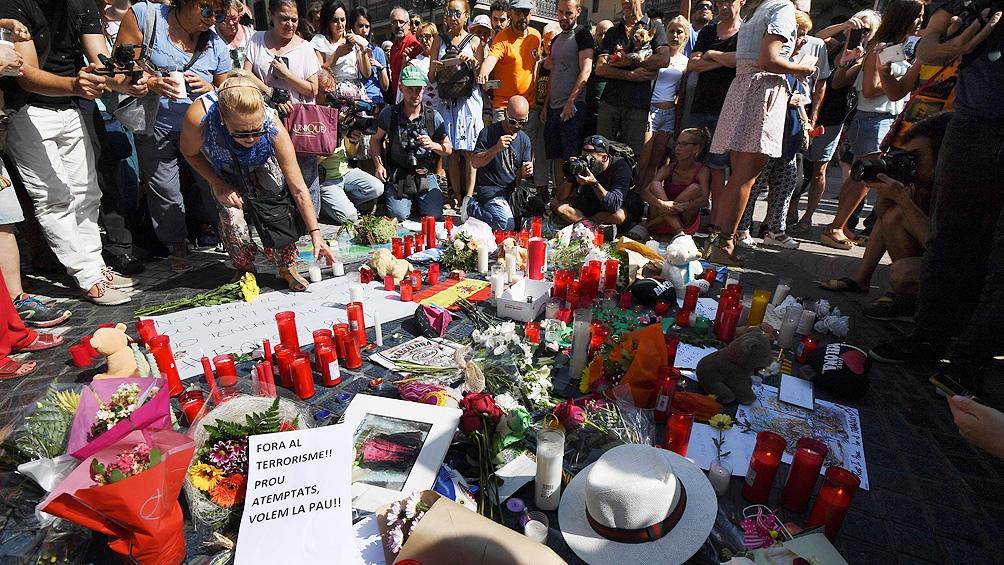 Doble atentado cometido por una célula yihadista en Barcelona
